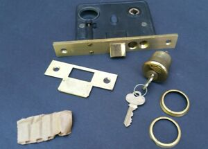Corbin 1323 Entry Door Mortise Cylinder Lock W Key 6 7 8 Face Nos