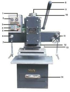 Hot Stamping And Plate Making Integrated Machine manual