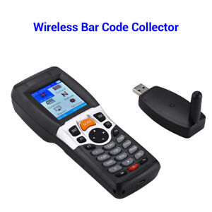 Portable Usb Barcode Scanner Collector With Lcd Screen Compatible With Windows 7