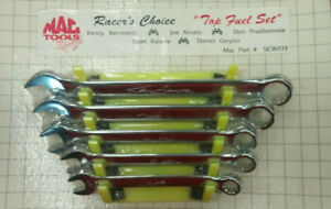 Mac Tools Racer s Choice top Fuel Set 5 pc Wrenches Scw5tf