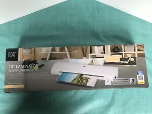 13 Easy Home Cold Or Hot laminator Brand New Sealed Paper Photo Home Office