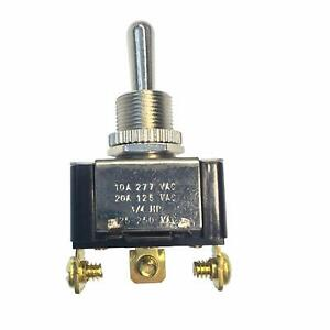 Gsw 117 Electrical Toggle Switch Spdt Mom On off mom on 20 A 125v Ac