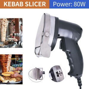 Portable Electric Kebab Cutter Slicer Meat Knife Doner Shawarma Cutting Machine