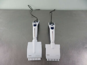 Rainin E4 Xls Electronic Multichannel Pipettes Lts Tips With Warranty