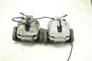 Pair Oem Bmw F10 528i 11 16 Left Right Front Brake Caliper W Carriers Pads