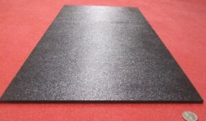 Black Abs Sheet 1 4 236 X 12 X 24 Haircell Textured One Side