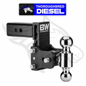 B w Hitches Class 4 Tow Stow Hitch With 5 Drop 5 5 Rise For 2 5 Receiver
