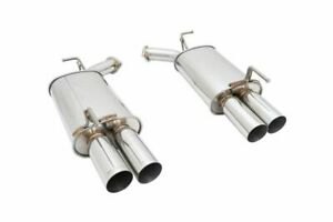 Megan Racing Stainless Axle Back Exhaust For 06 10 Infiniti M35 M45 Awd