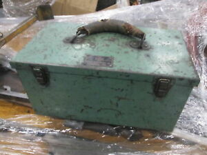 Mcgonegal Mfg Co Themac Type J4 115v 1ph 1 2hp 10 000 Rpm Tool Post Grinder