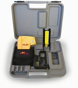 Pacific Laser Systems Pls 5 beam Laser Level With Cross Line Laser Pls 60541