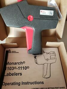 Genuine Brand New Monarch 1110 06 Date Code Label Gun