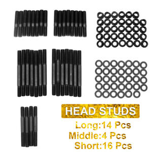 New Cylinder Head Stud Kit For Pce279 1001 Small Block Chevy Sbc 350 383 400 327