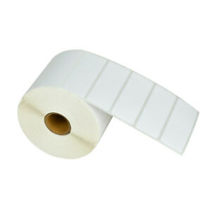 30 Roll 1500 3 x1 Paper Tape Postage Shipping Address Barcode Labels 1 Core