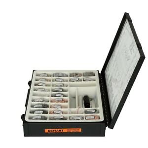 Lock Rekey Kit Metal Black With Tools Required And Detailed Instruction Manual
