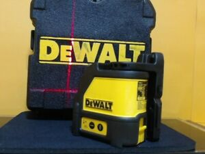 Dewalt Dw087 Self leveling Cross Line Laser horizontal And Vertical With Case