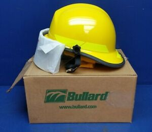 Bullard Px Fire Helmet With R330 4 Faceshield R726y Yellow Nomex Enp