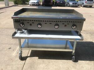 Vulcan Natural Gas 48 Countertop Griddle Vcrg48 t1