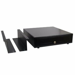 Under Counter 16 inch Pos Cash Drawer With Mounting Bracket Bill And Coin Trays