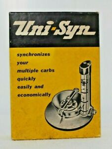 Nos Uni syn Carburetor Tool Synchronizer Gm Ford Chevy Pontiac fits Model A