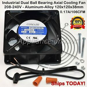 Middleby marshall 97525 Pizza Oven Compartment Fan 208 240v Plug Ships Today