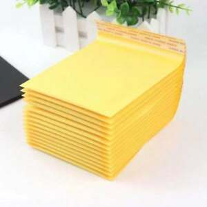 1 1000 t 5x7 Kraft Bubble Mailers Padded Shipping Envelopes 5 X 7