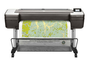 New Hp Designjet T1700 44 Inch Postscript Large Format Printer 1vd87a b1k