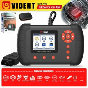 Vident Ilink400 Full System Scan Tool Single Make For Abs Srs Epb Dpf Oil Reset
