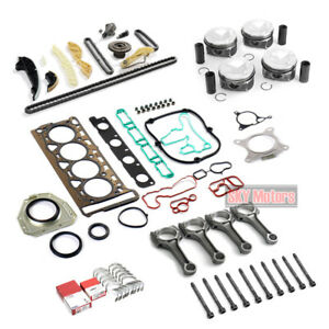 Overhaul Rebuild Pistons Gaskets Con Rods Kit 23mm For Audi Vw Cc Tiguan 2 0tsi