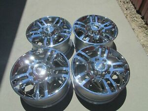 20 Chevy 2500 Hd 3500 Hd High Country Oem Factory Chrome Wheels Rims
