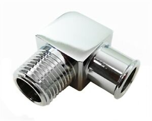 Rpc R4529 Heater Hose Fitting 90 Degree 3 4 X 1 2 Alum Chrome