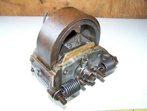 Old Webster K Hit Miss Gas Engine Brass Magneto Ignitor Mag Steam Tractor Hot