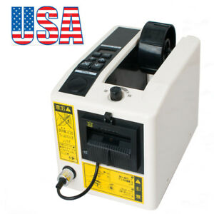 Us Electric Automatic Tape Dispenser Adhesive Cutter Packaging Equipment