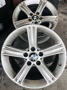 Set Of 4 2012 To 2018 Bmw 328 340 428 335 320 Oem Factory 17 Wheel Rims