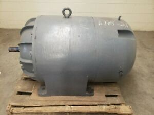 General Electric 100 Hp 1185 Rpm 6325s Frame 440 Volts Electric Motor