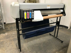 Mutoh Large Format Color Printer Model Rj 4100a