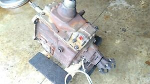 Ford Borg Warner Wrecker Transmission T19 148 Four Speed Creeper Gear 6 9 7 3