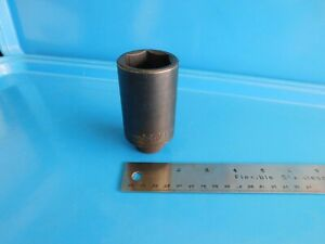 Used Mac Tools 34 Mm Deep 6 Pt Impact Socket 1 2 In Dr Part Vdp634mmr