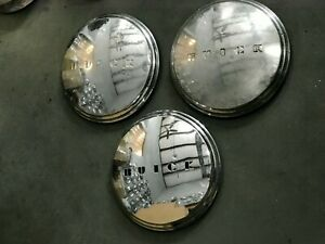 3 Pc Buick Hubcaps Dog Dish Poverty Hubcaps 1941 1950