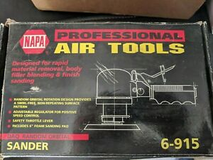 Napa Professional Air Sander Tool 6 915 Daq Random Orbital Sander New In Bo