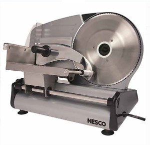 Electric Food Slicer Meat Bacon Deli Cheese Steel Cutter Home Restaurant Kitchen