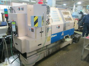 Miyano Bne 46s Cnc Turret Lathe W sub Spindle parts Catcher 12 Tool Atc as Is