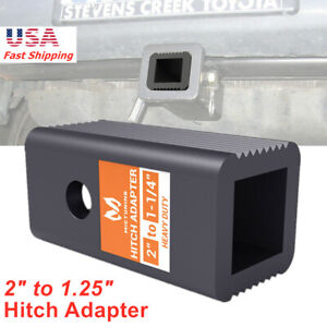 2 To 1 1 4 Trailer Hitch Receiver Adapter Insert Sleeve Reducer For Cargo Rack