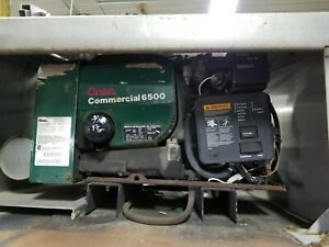 Onan Commercial 6 5 6500 Gasoline Generator Only 87 Hours Free Shipping