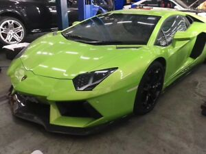 Lamborghini Aventador Lp700 Carbon Fiber Body Kit Front Lip Side Skirt Gtwing