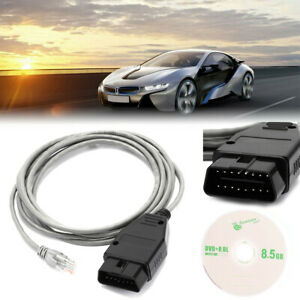 Ethernet To Obd Interface Cable E Sys Icom Coding F Series For Bmw Enet 2m