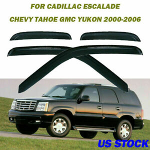 For Chevy Tahoe gmc Yukon 2000 2006 Window Visor Rain Guard Tint Style Replace