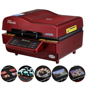 3d Sublimation Heat Press Machine For Phone Cases Mugs Cups Heat Transfer Print