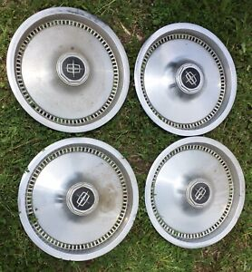 15 Wheelcovers Hubcaps 75 81 Lincoln Set Of Four Nice