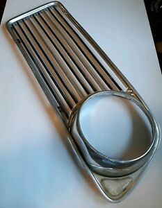 Bmw 2002 Tii Ti Turbo 1969 1970 1971 1972 1973 Left Fr Grille Good Condition