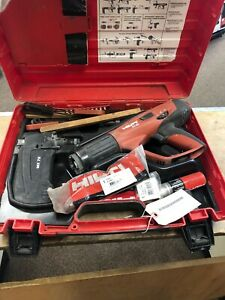 Hilti Dx460 Fully Automatic Powder actuated Tool W mx72 Magazine Free Shipping